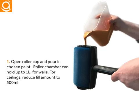 Painte Multifunctional Paint Roller Pro Kit In 2020 Paint Roller Mop Handle Roller