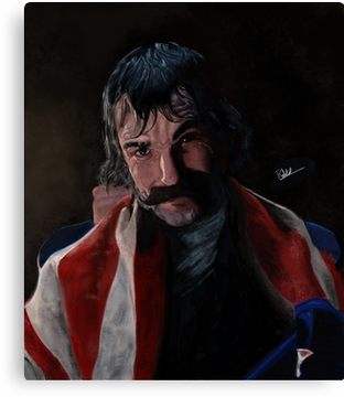 Bill The Butcher Canvas Gangs of New York Wall Art