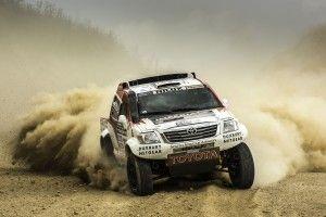 Toyota Hilux Dakar Team News Stage 3
