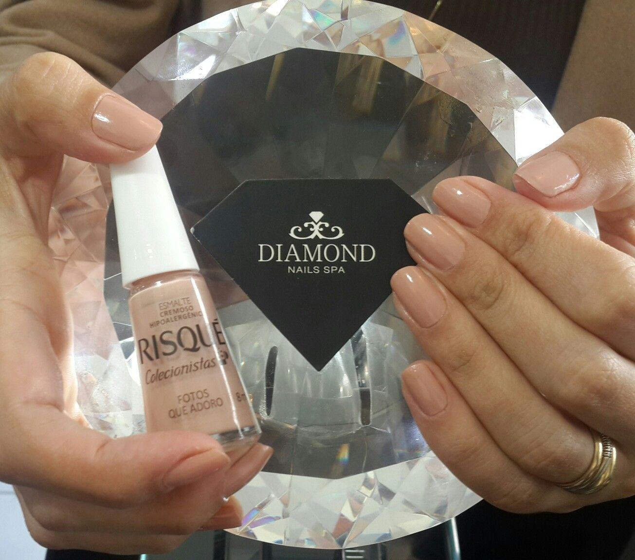 diamondnailsspa #novacolecao #novosnudesrisqué @licelys | Nails ...