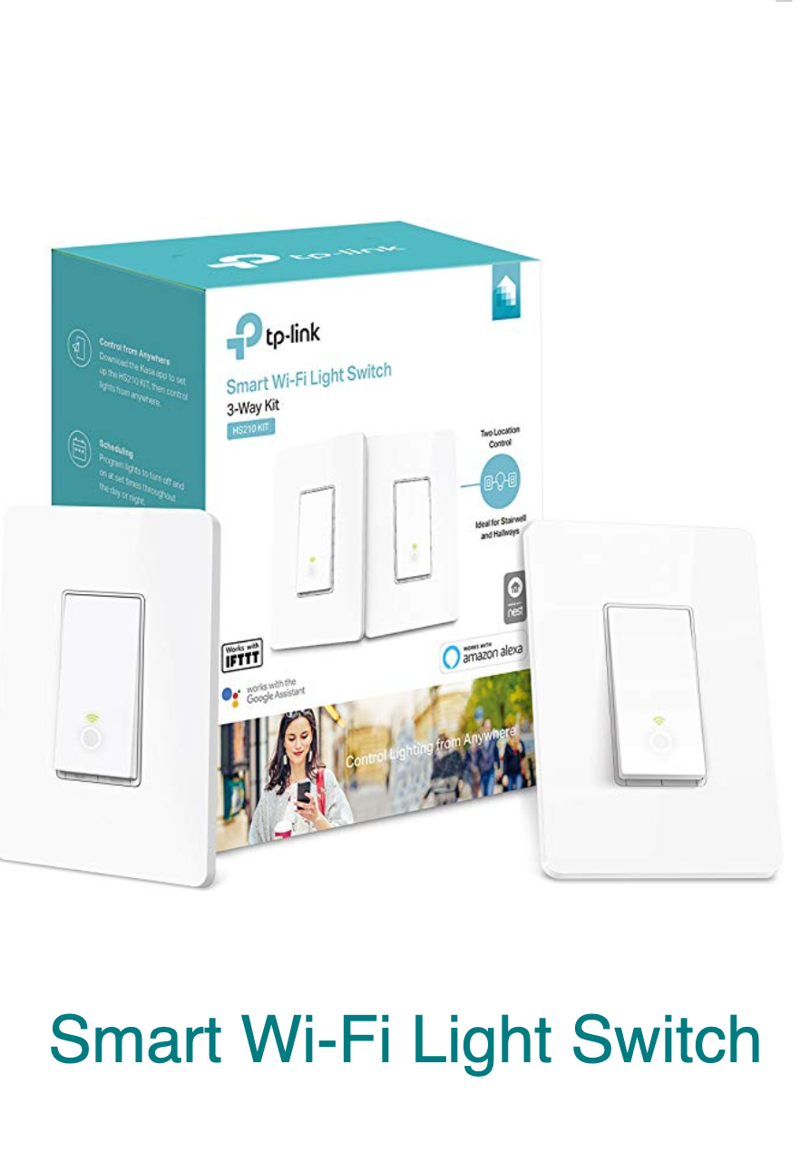Kasa Smart Wi Fi Light Switch 3 Way Kit By Tp Link Control Lighting From Anywhere Easy In Wall Installation 3 Way Only No Hub Re Works With Alexa Tp Link