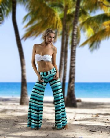 Jade Tie Dye Crepe Pant by Letarte, love the pants, use the lace kind for yoga, this fabric is super light. Perfect summer.