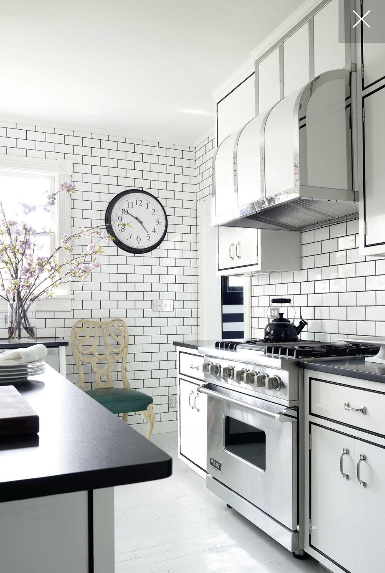 Pin By Happy Groove On Kitchen Designs Kitchen Design Small Kitchen Decor White Subway Tile Kitchen