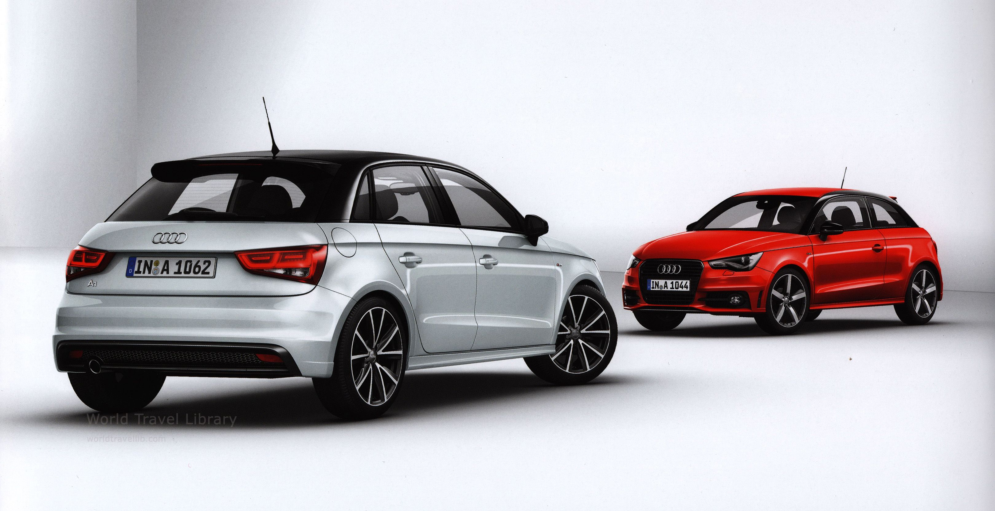 Audi A1 A1 Sportback Admired 2013 2 Car Brochures