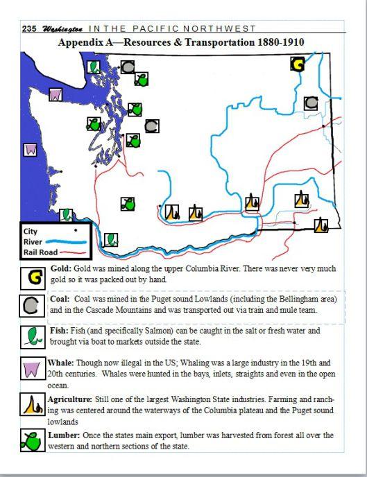 7th Grade Washington State History Lesson Plan Resource