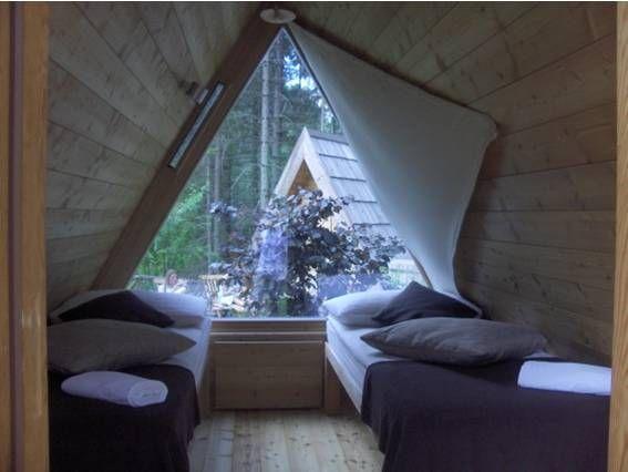 Bled's Eco-Village | Viking King | Glamping, Camping pod, Cabin design