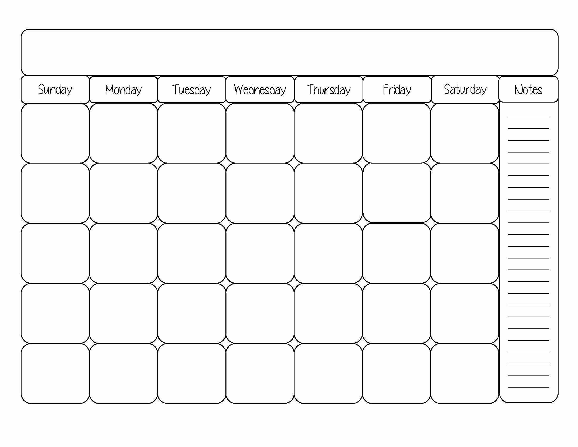 Beste Leere Wöchentliche Kalendervorlage Fotos - Entry Level Resume ...