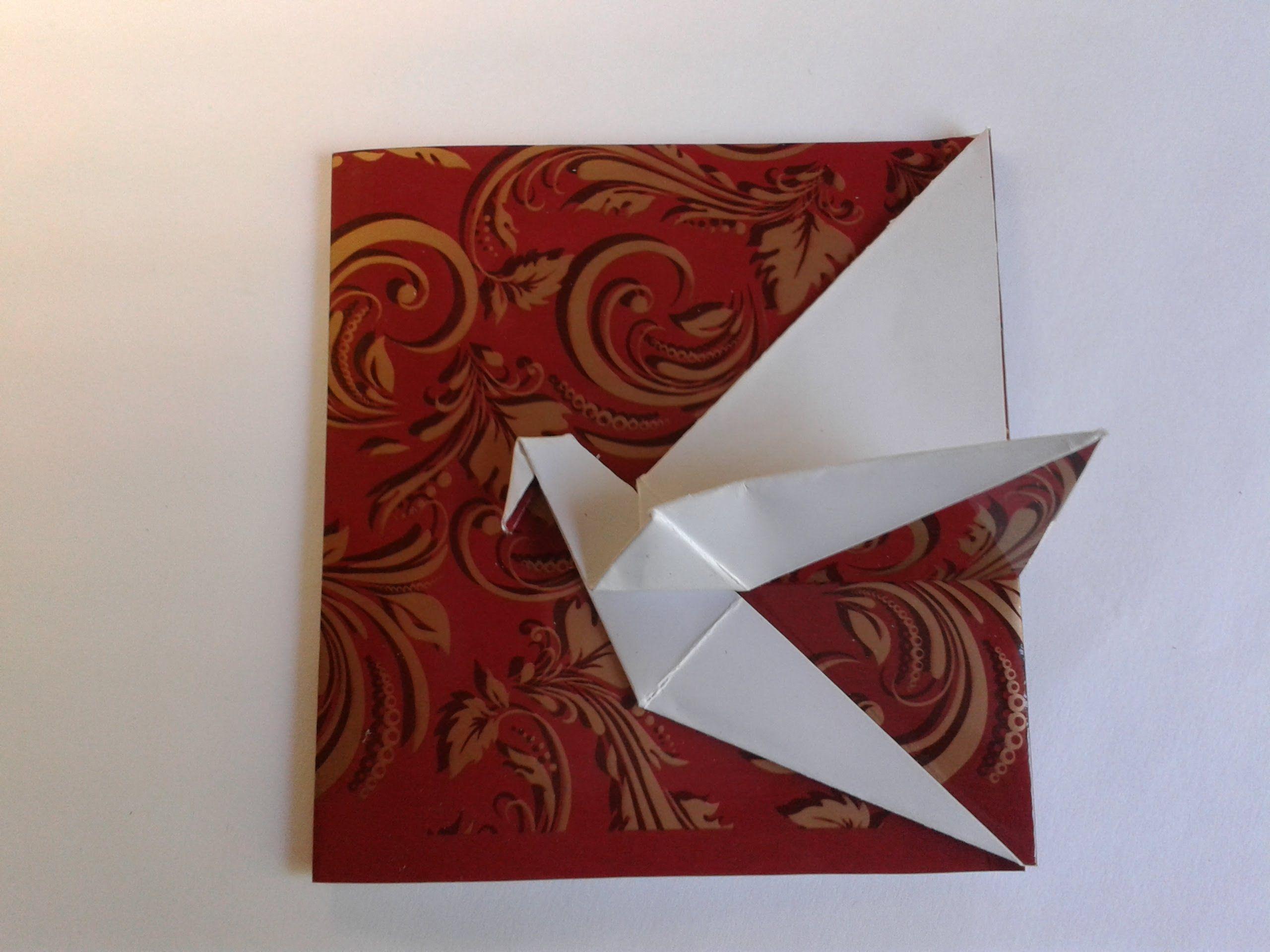 Смотреть открытки оригами