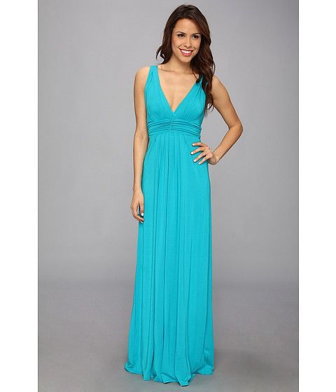 b648551993f Bright blue stretch jersey maxi dress from Tart Collections.  fashion   favorites  colorlove