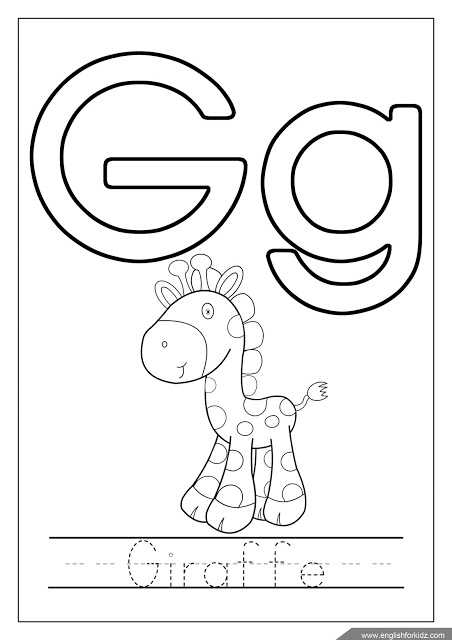 Letter G Worksheets Flash Cards Coloring Pages Letter G Worksheets Letter G Letter A Coloring Pages