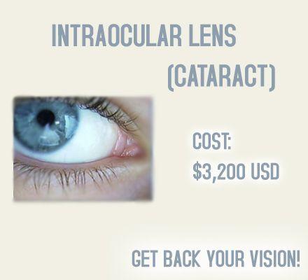 Cataract Surgery Intraocular Lens Implant Mexicali Mexico Cataract Surgery Eye Treatments Lasik