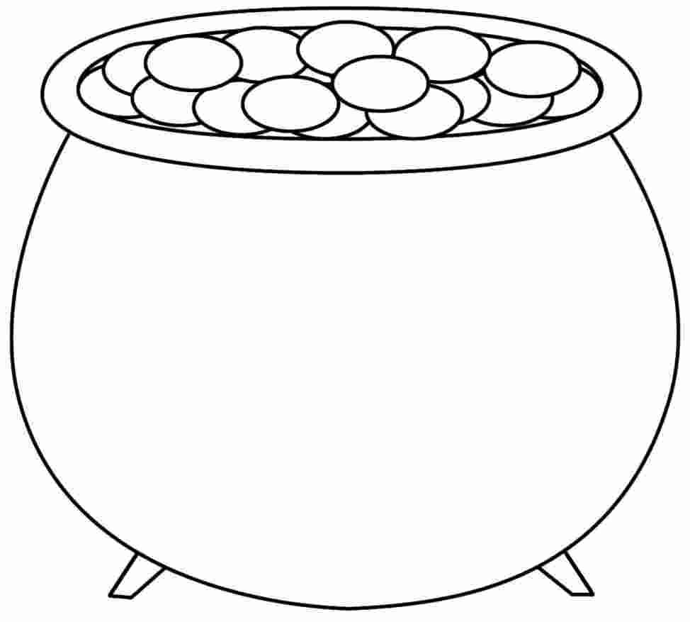 Coloring Pages Pot Of Gold In 2020 Pot Of Gold Coloring Pages For Kids Coloring Pages