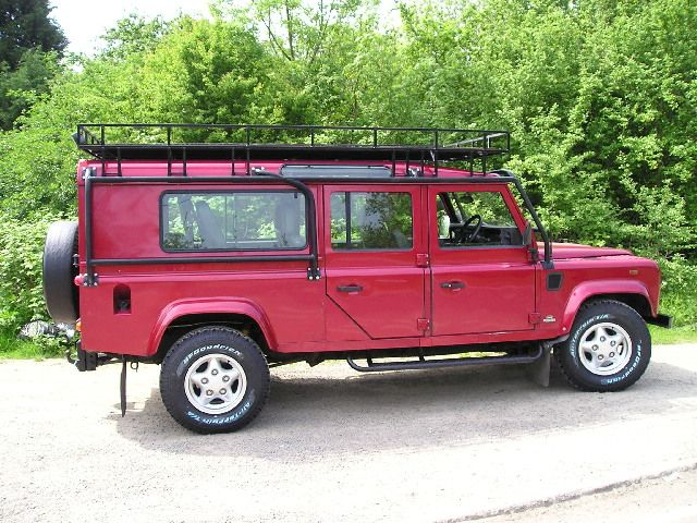 Custom Defender 130 Station Wagon conversion with Full roll bar and