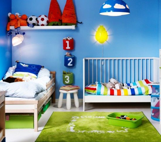 Suggestions For Picking Wall Color For Kids' Rooms - http://www.decorazilla.com/interior-design-2/suggestions-for-picking-wall-color-for-kids-rooms.html
