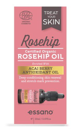 Rosehip By Essano Organic Rosehip Oil with Antioxidant Acai