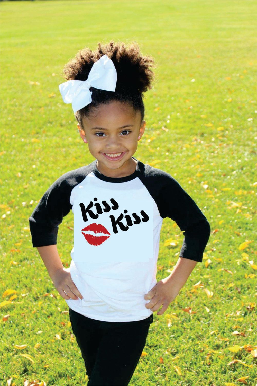 How Cute Is This Valentine S Day Shirt For Your Little One Raglan