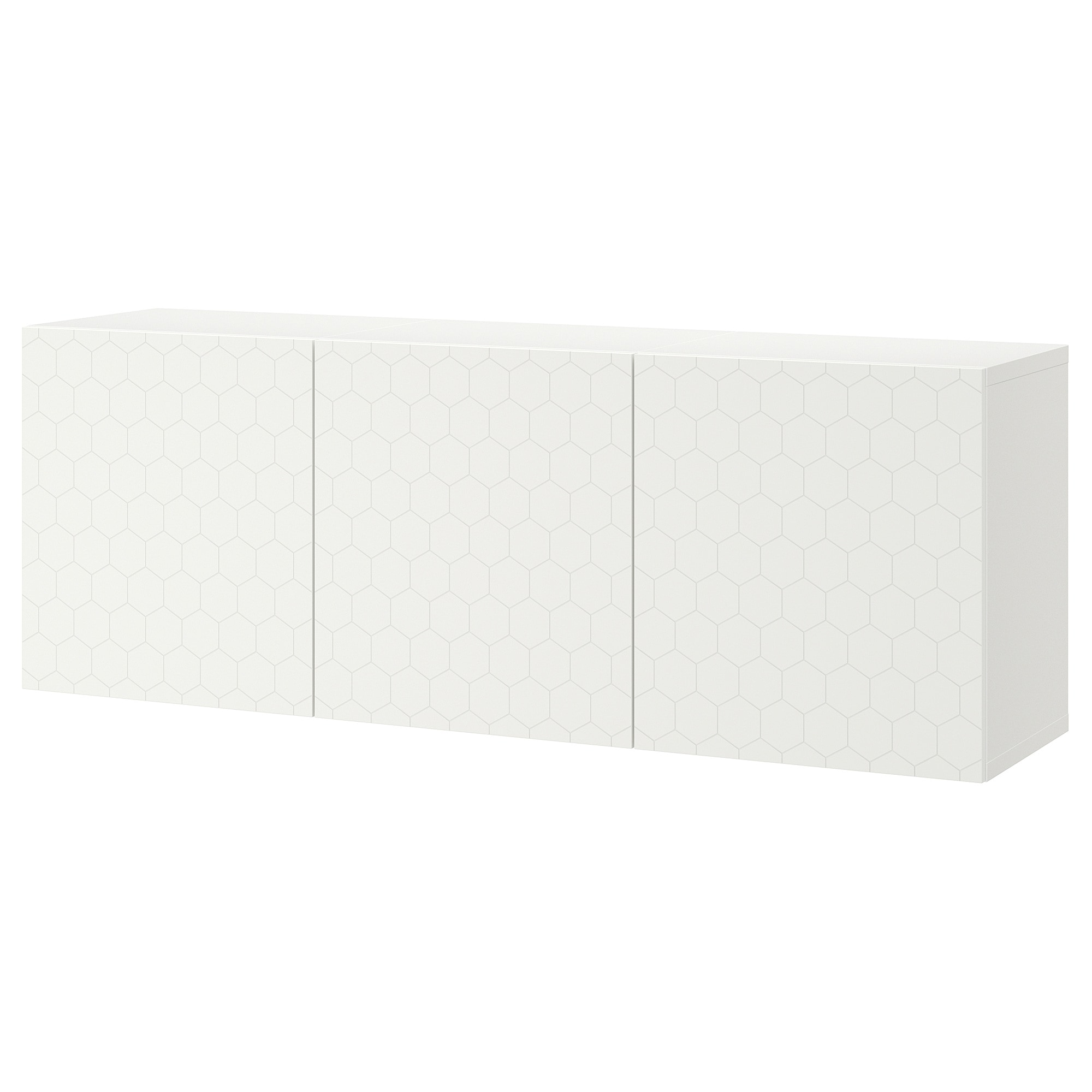 Ikea Bestå Wall Mounted Cabinet Combination White
