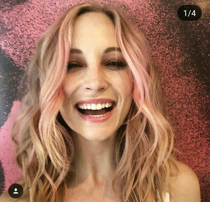 Pin by Ирина on Candice Accola | Candice king, Pink hair