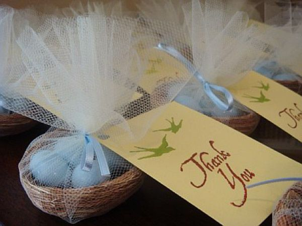 Diy project birds nest favors favors bird and wedding bird favors for parties do it yourself wedding favors featured on smps diy solutioingenieria Choice Image