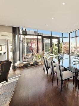 Dining Room Jon Bon Jovis Luxury New York Apartment