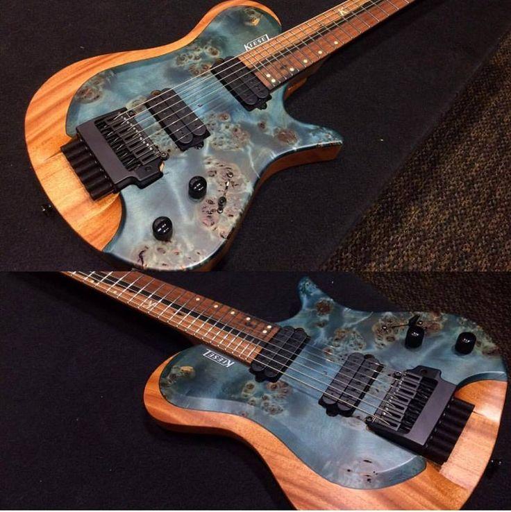 Kiesel Reverse Burst Zeus Guitar Drills Pinterest Guitars And
