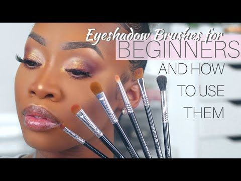 eyeshadow brushes for beginners and how to use them