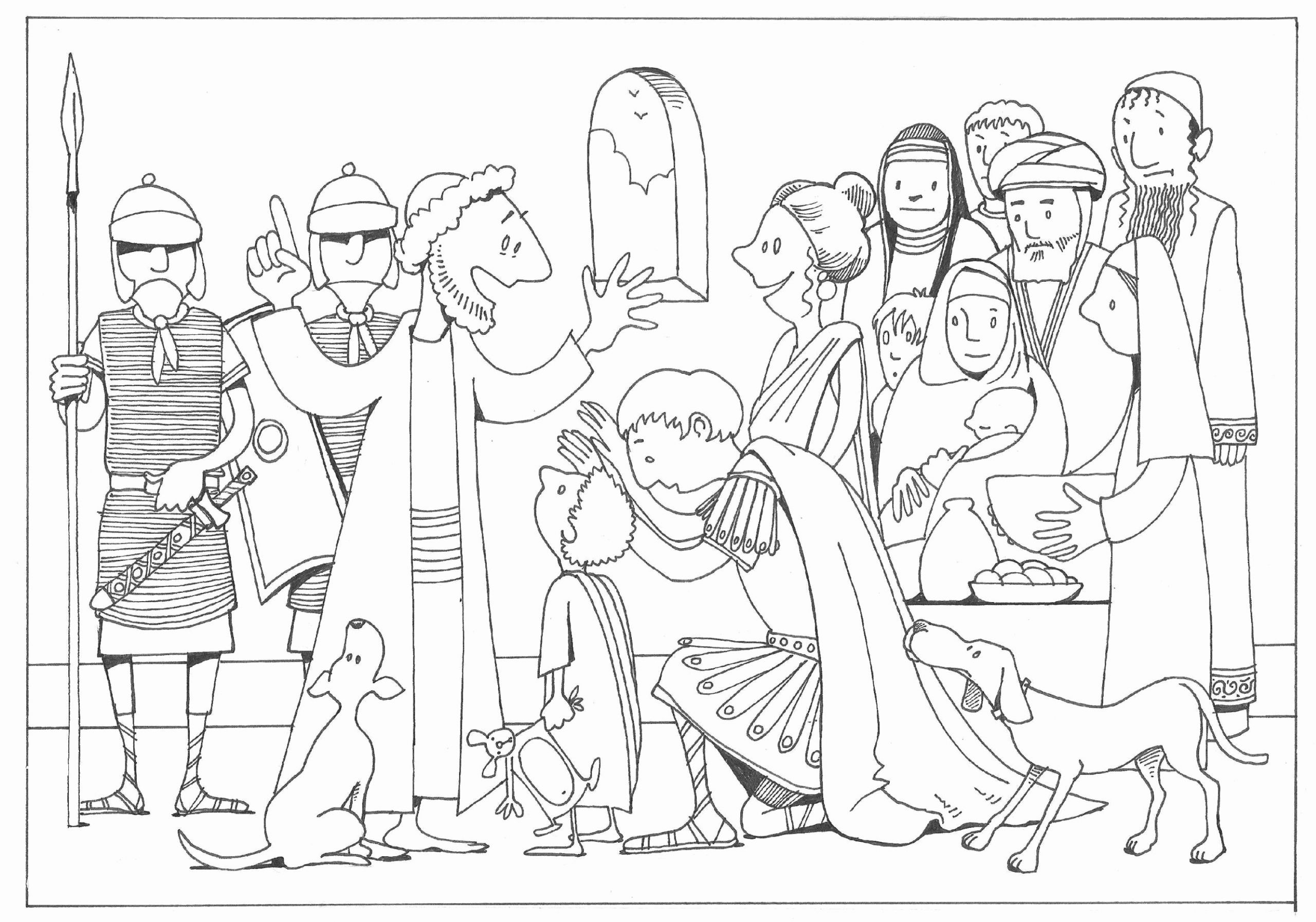 32 Peter And Cornelius Coloring Page In 2020 Coloring Pages