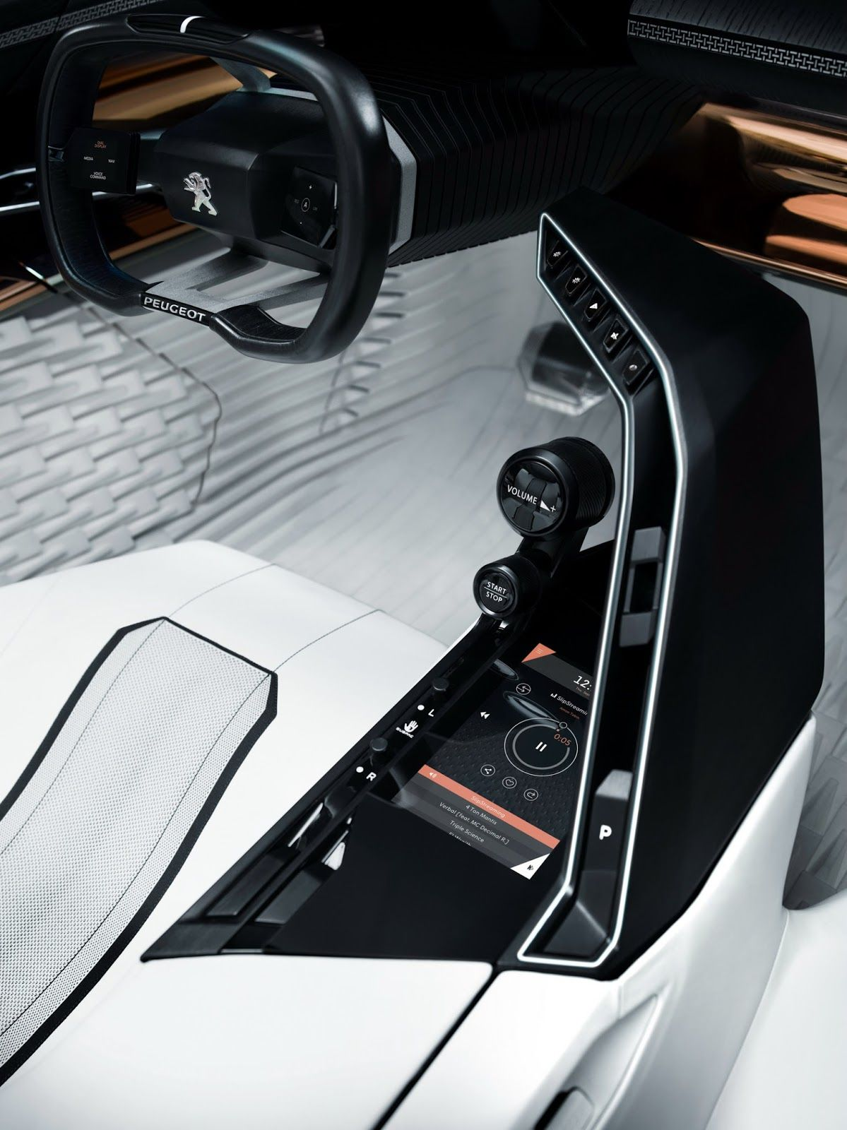 Peugeot's New Fractal Coupe-Hatch-Convertible Concept In All Its Photo  Glory  Car Interior DesignAuto DesignAutomotive ...