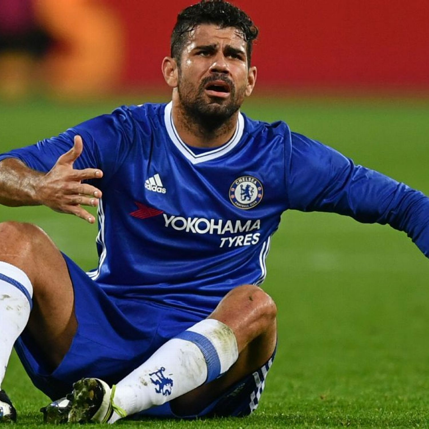 Diego Costa returns to Chelsea to assess injury source