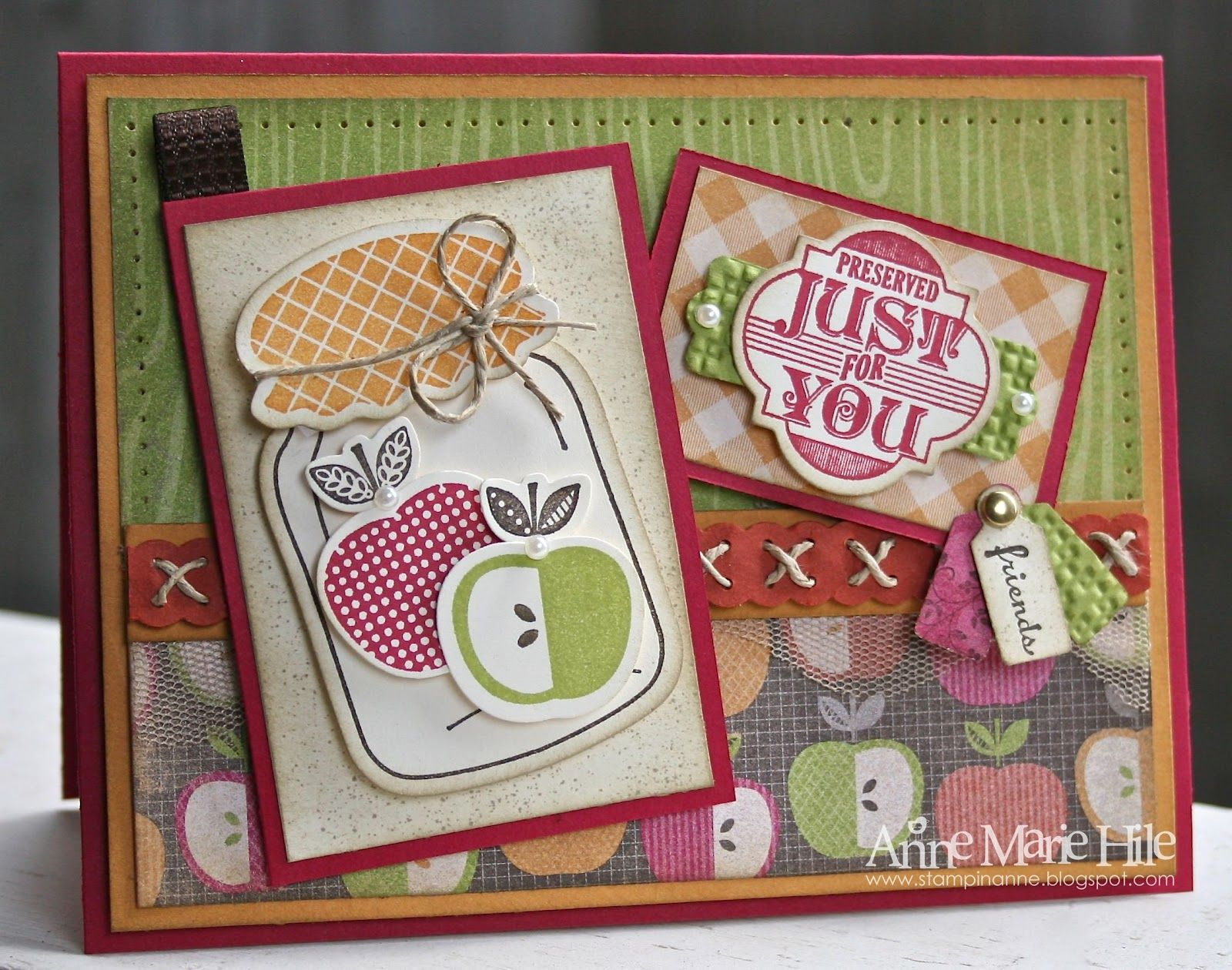 Stampin' Anne: Perfectly Preserved for {SSC #269} and a New Blog Look!