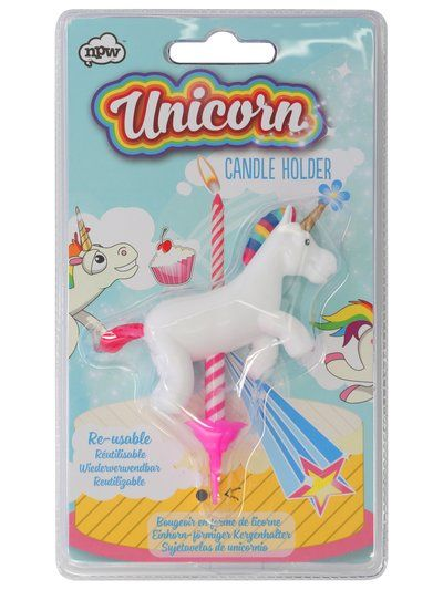M Amp Co Kylie Unicorn Candle Holder Oinkparty Hard