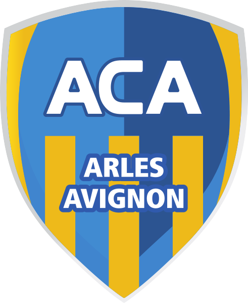 ac arles avignon soccer badges patches pinterest. Black Bedroom Furniture Sets. Home Design Ideas