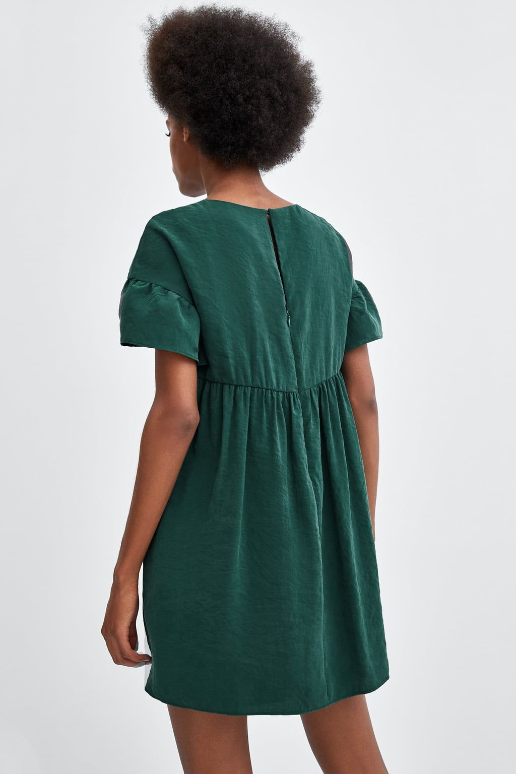 Zdjecie 5 Sukienka Kombinezon Z Falbanka Z Zara Fashion Dressy Dresses
