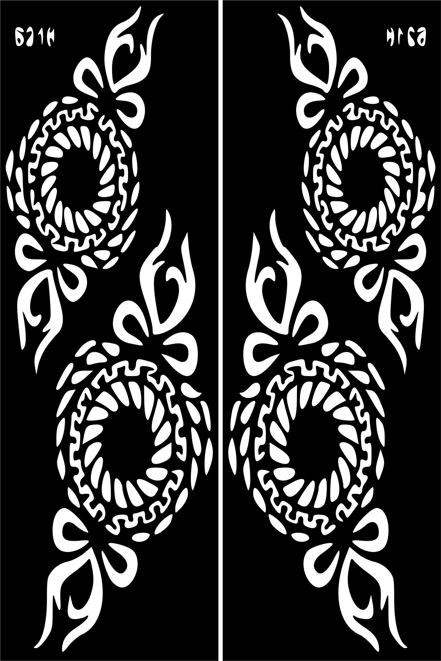 Henna Temporary Tattoo Body Art Sticker Stencil Sticker