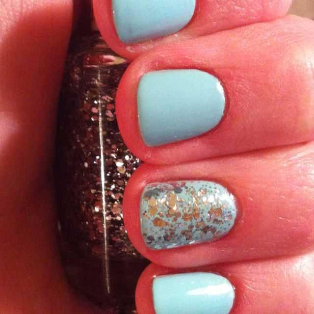 Essie Mint Candy Apple with Luxe Effects Set in Stones | Hair ...