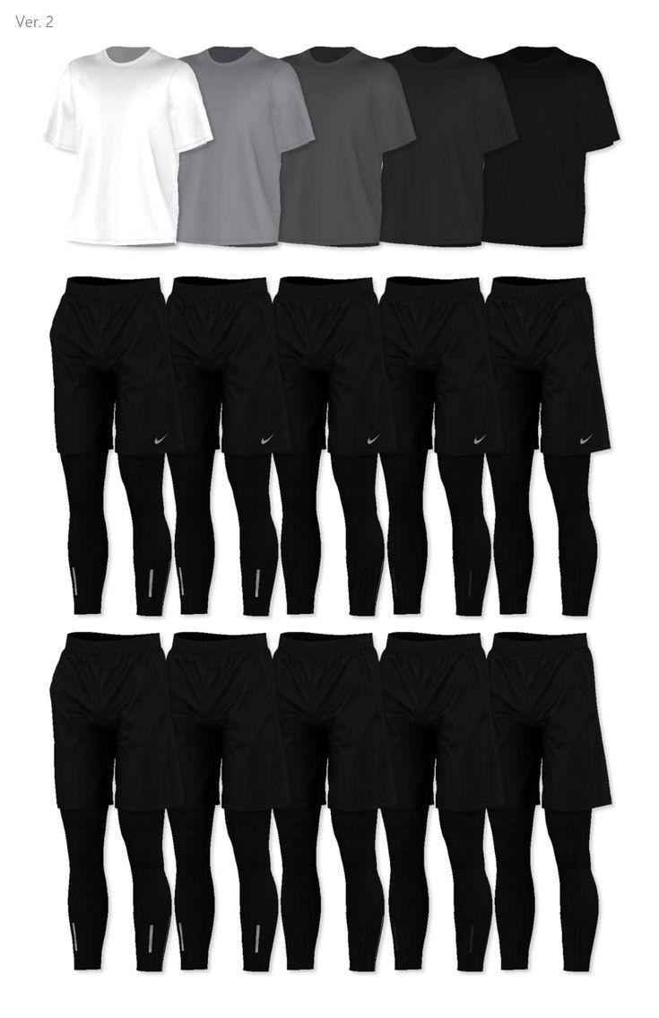 MM FAV CC 4 • rona-sims: [RONA] Summer Activewear For Men