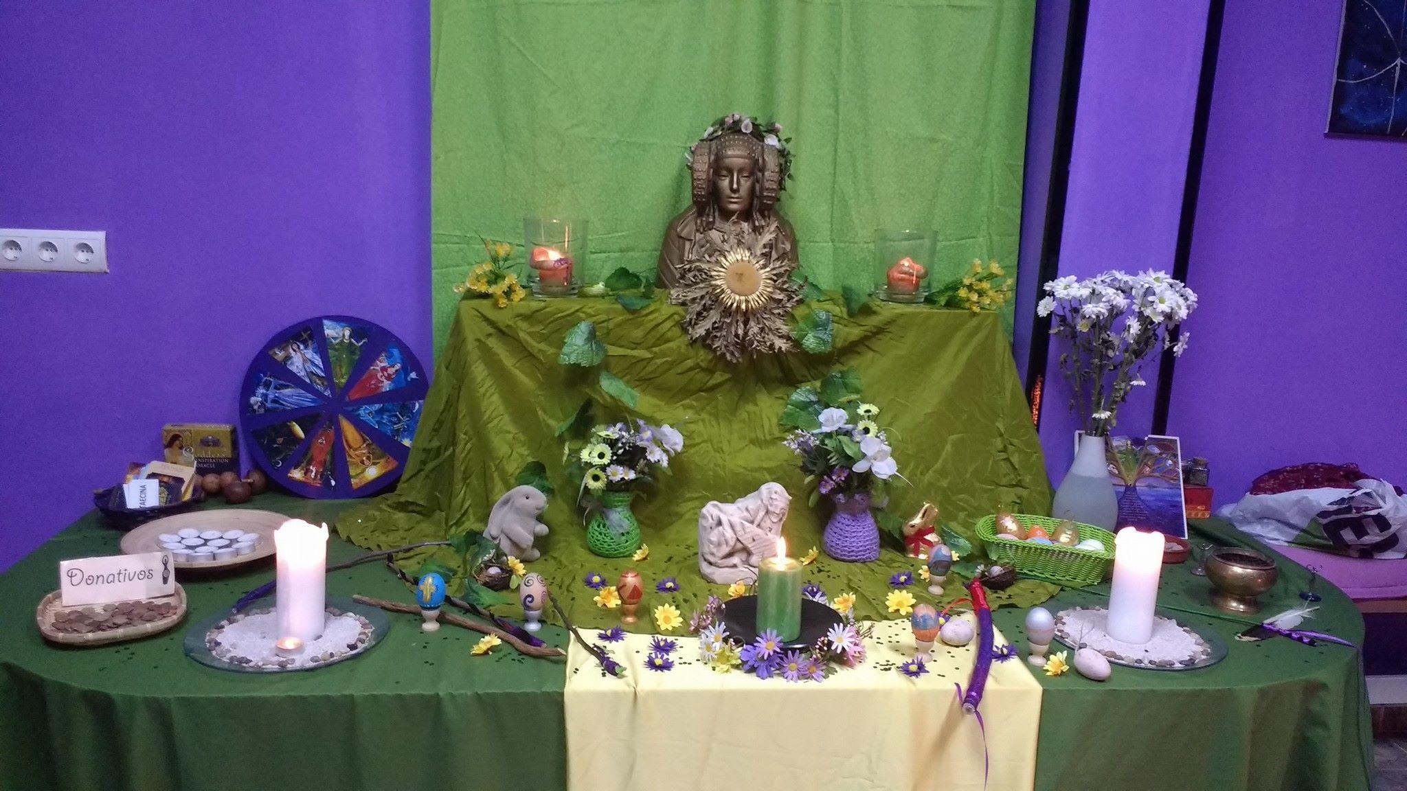 Altar de Ostara 2017
