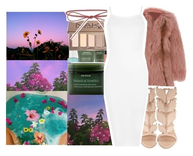 """let it drip again."" by pinksemia ❤ liked on Polyvore featuring Sephora Collection, J. Mendel, Giuseppe Zanotti, Elizabeth and James, Hervé Léger and WearAll"