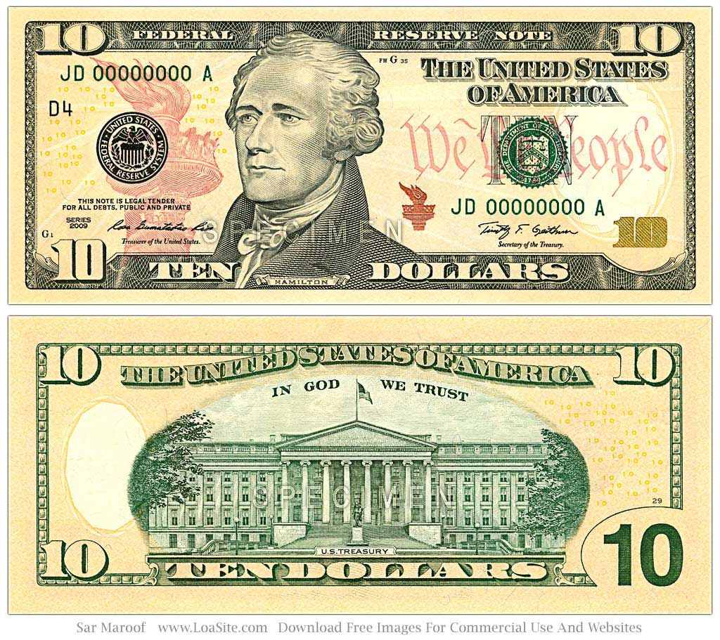 New 50 Dollar Bill Front And Back