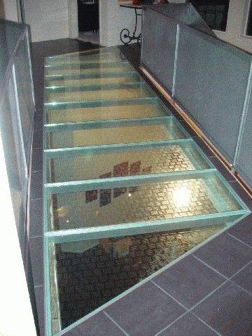 Glass Walk Floor System Glass Floor Flooring Glass Panels