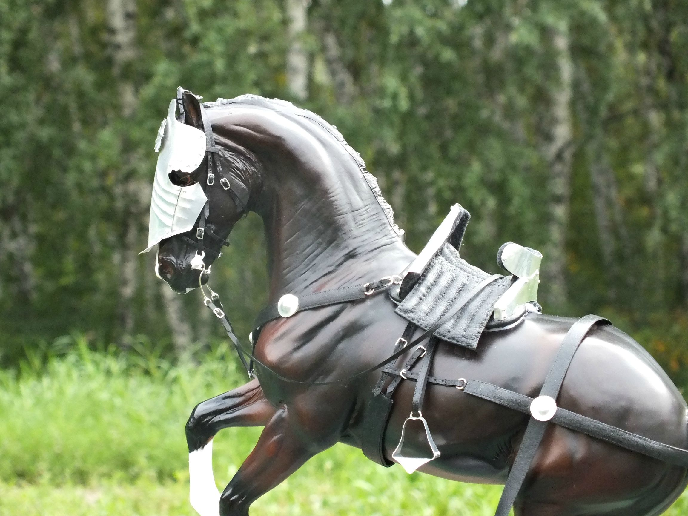 Картинка рыцарь лошадь нитки