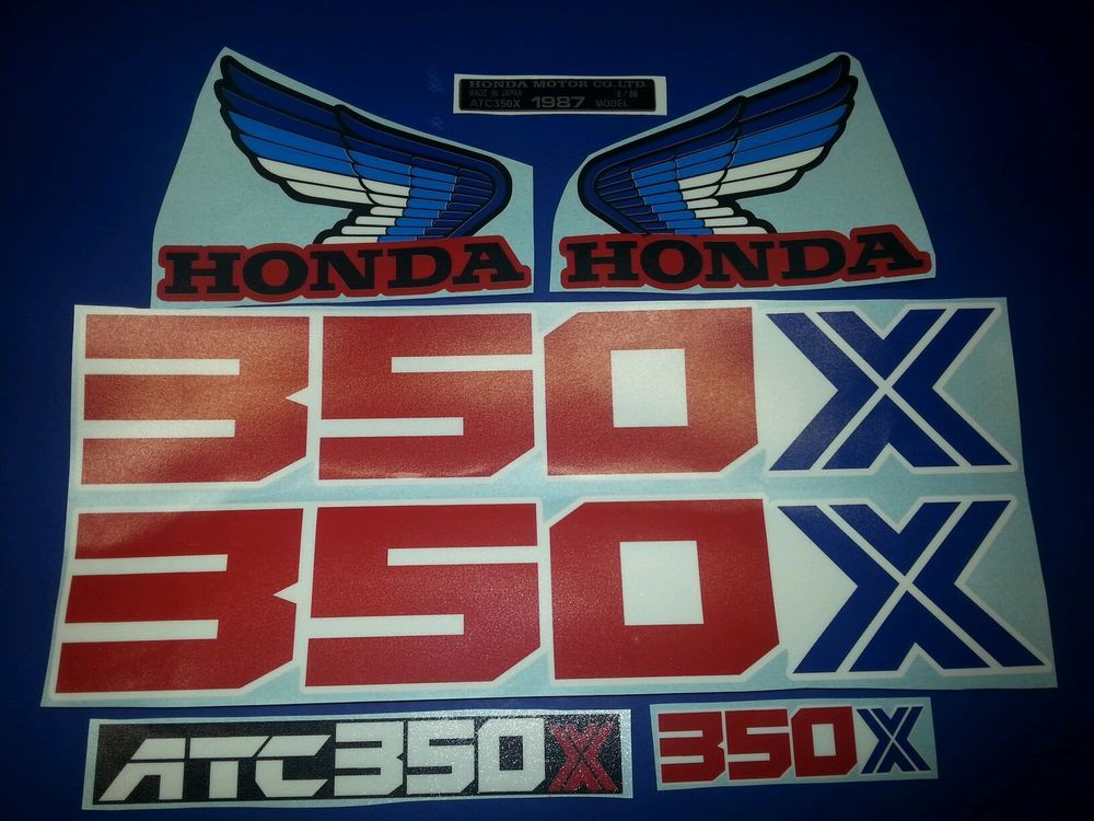 ATC 350X 1985-1986 TRX250R 1985-1987 Tool Box. Honda ATC 200X 1986-1987