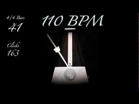 110 BPM Metronome - YouTube | guitar tabs in 2019 | Guitar tabs