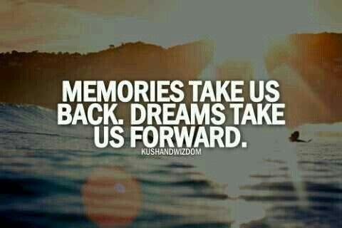 Always look forward