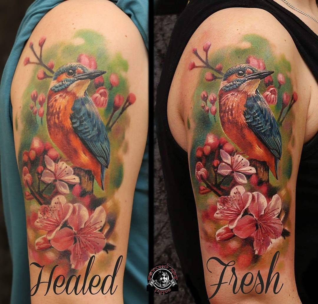Fresh Vs Healed Cheyennespirit Cheyenne Tattooequipment
