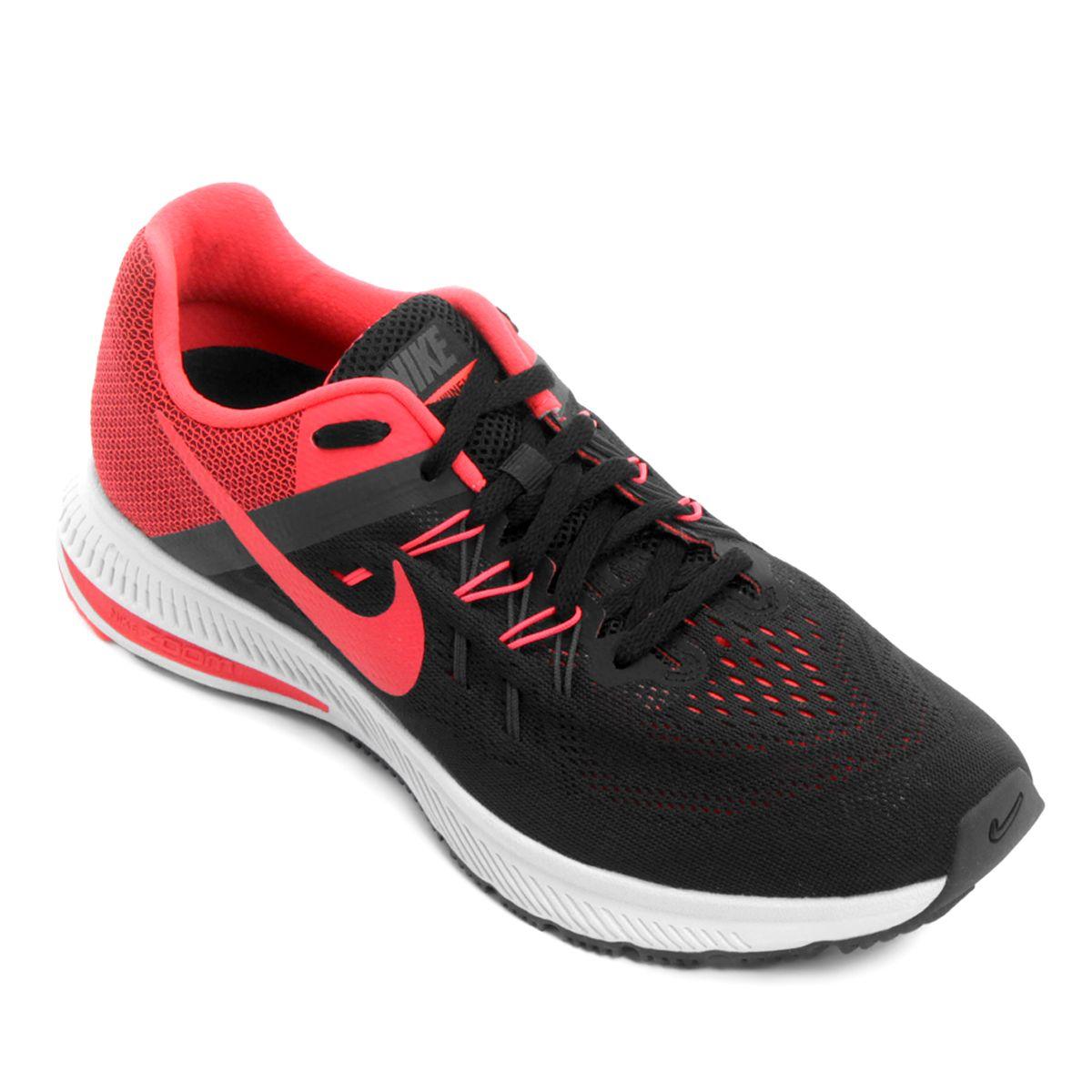 4d71f14d7e Tênis Nike Zoom Winflo 2 Masculino - Preto e Rosa | Sapatos ...
