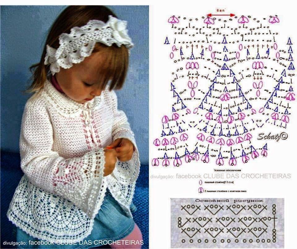 Crochê e duas agulhas: Menina | crocheting baby\'s sftuff | Crochet ...