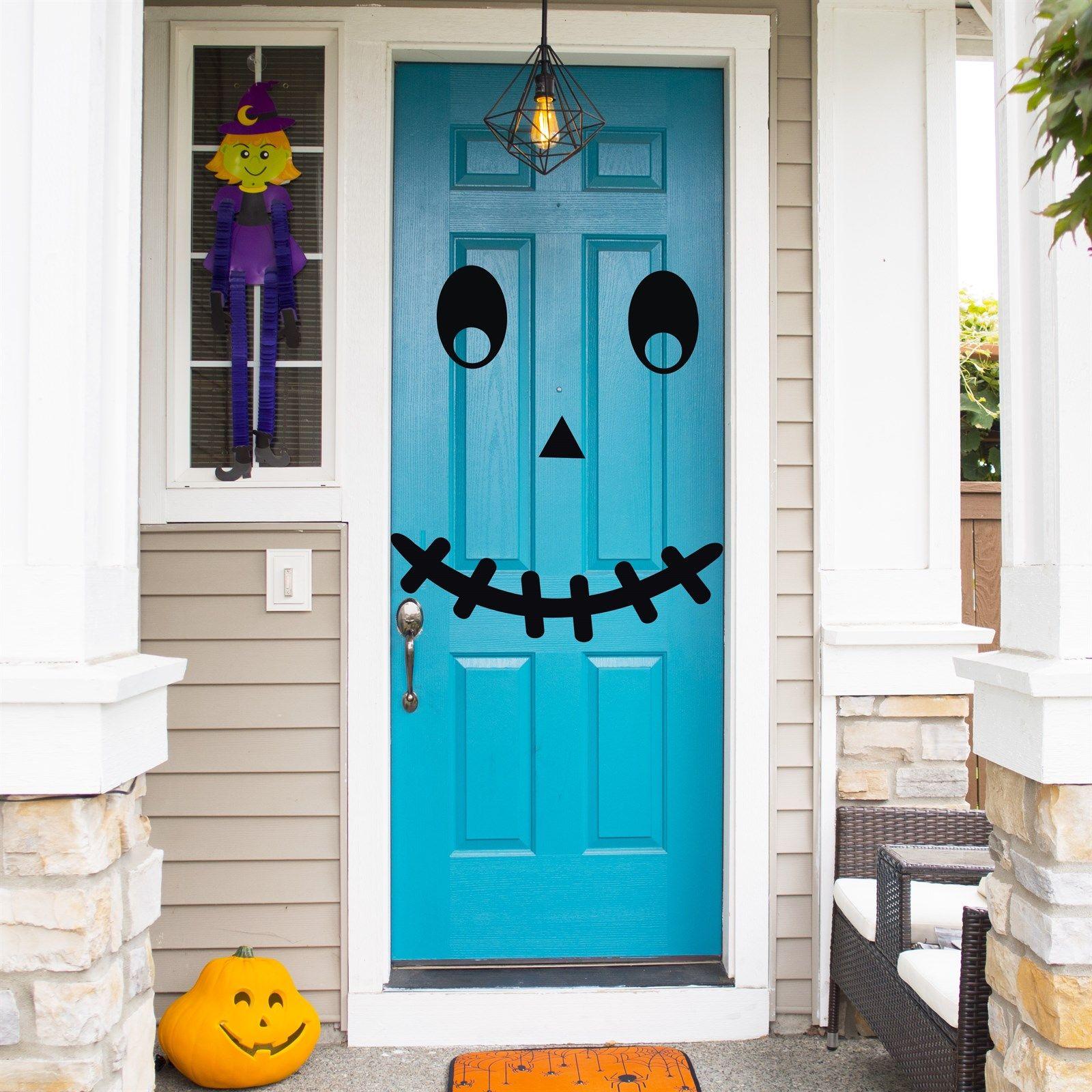 Spooky Door Halloween Decoration