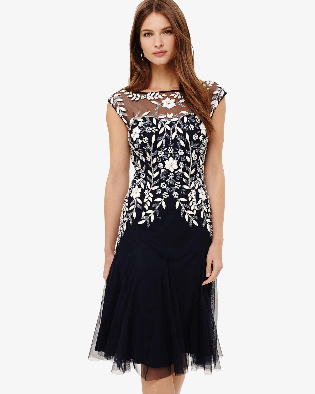 Phase eight ursula tulle dress blue beautiful dresses pinterest