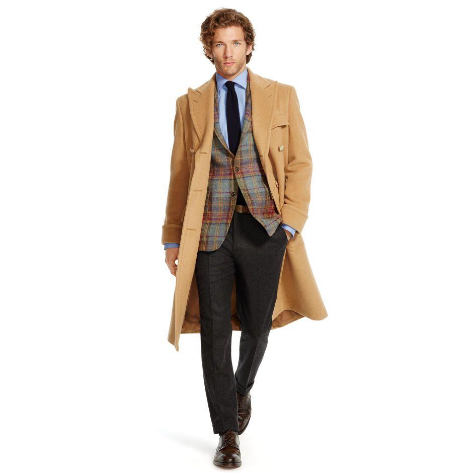 Camel Hair Polo Coat Ralph Lauren